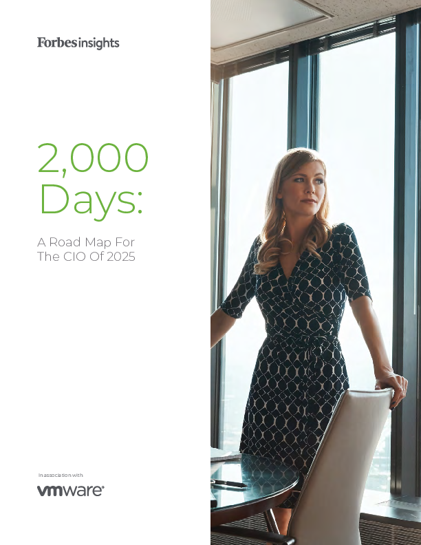 Thumb original forbes insights   2 000 days a roadmap for the cio in 2025