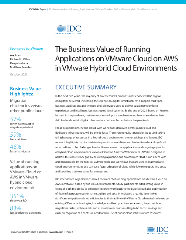 Square cropped thumb original 691726 2020 business value running applications vmware cloud aws vmware hybrid cloud environments 32c60e5a0be03384