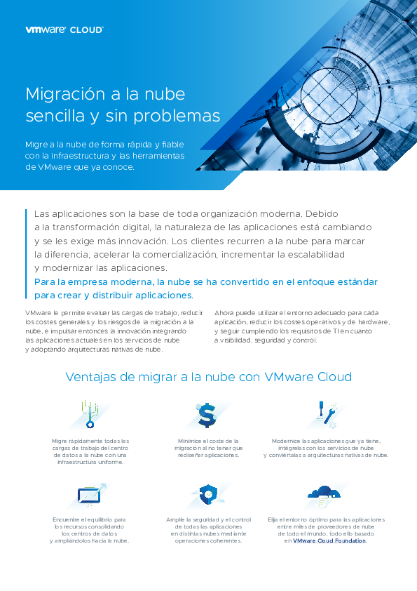 Thumb original solution brief   seamless and simple migration to the cloud   es