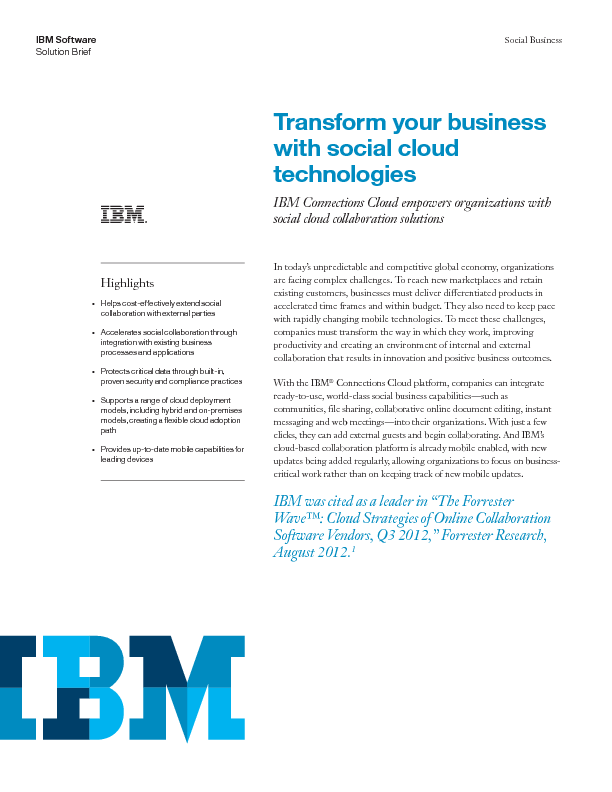 Thumb original ov13671 ibm connections solution brief transform your business with social cloud technologies eps12355usen