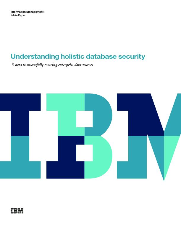 Understanding holistic database security