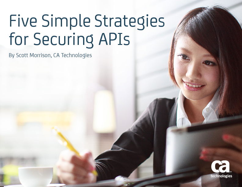 Five Simple Strategies for Securing APIs