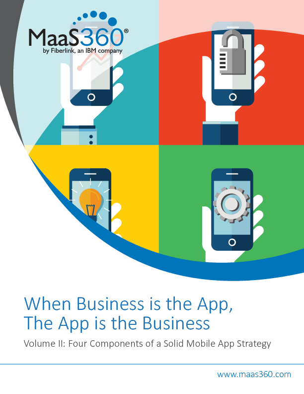 When Business is the App, The App is the Business - Volume II: Four Components of a Solid Mobile App Strategy