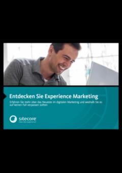 Sitecore de experience marketing cover