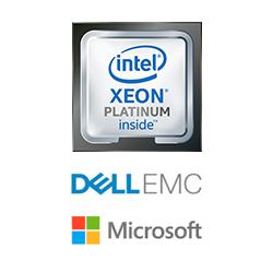 Intel dell microsoft xeon platinum