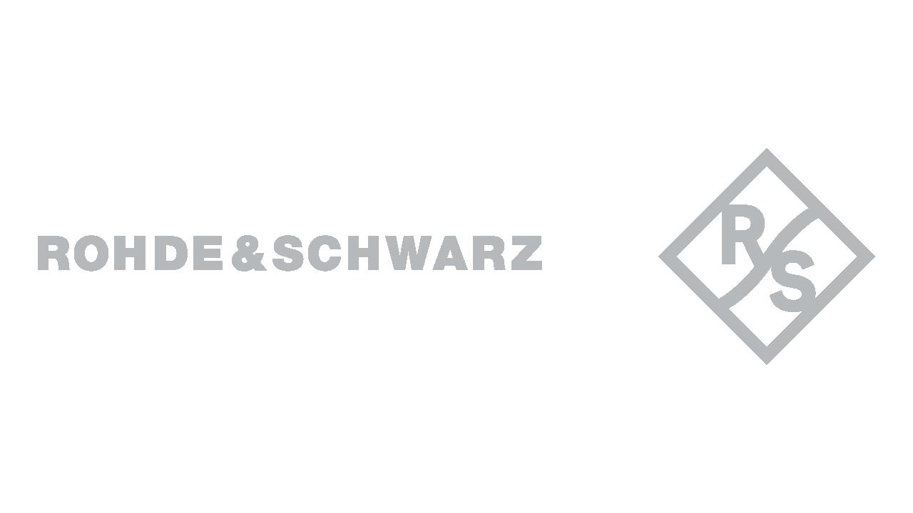 Rohde und schwarz logo 1280x720px grau
