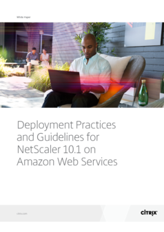 Thumb deployment practices and guidelines for netscaler 101 on amazon web services