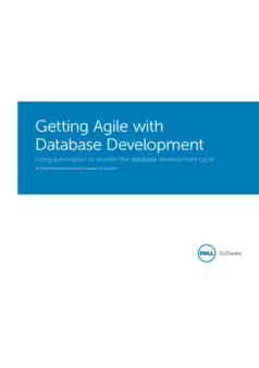Thumb getting agile with database development ebook 17077
