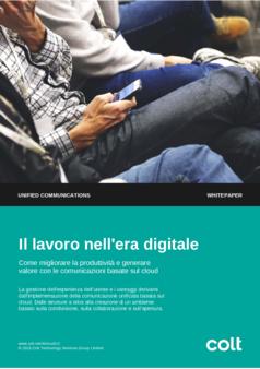 Thumb digital working colt cloud uc wp1 italian