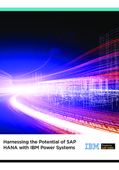 Thumb harnessing the potential of sap hana with ibm power systems