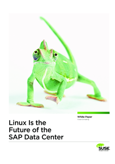 Thumb linux is the future of the sap data center wp