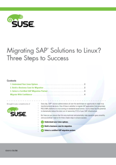 Thumb migrating sap solutions