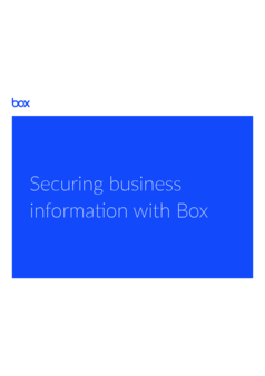 Thumb  ebook  securing business information with box