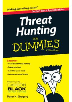 Thumb eb threat hunting  for dummies