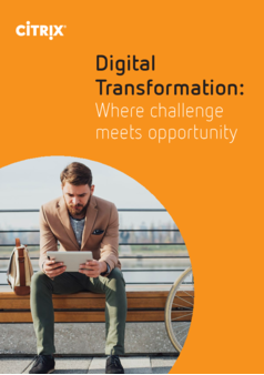 Thumb digital transformation where challenege meets opportunity