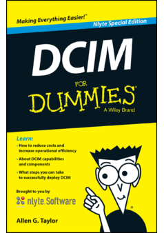 Thumb data center infrastructure management  dcim  for dummies