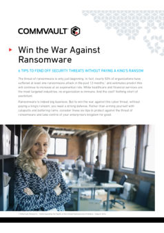 Thumb win the war against ransomware
