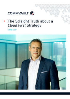 Thumb the straight truth about a cloud first strategy