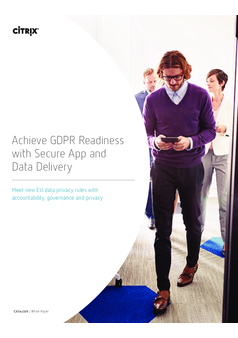 Thumb achieve gdpr readiness with secure app and data delivery