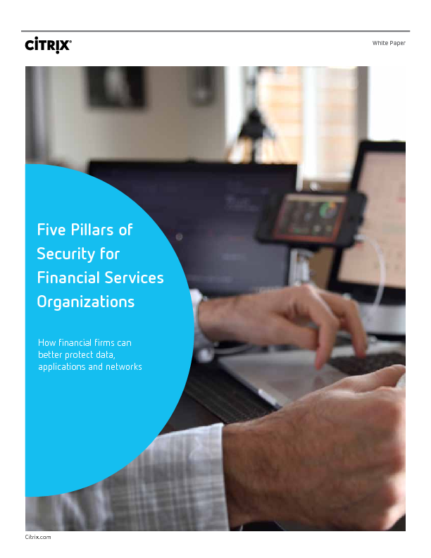 Thumb original five pillars of security for financial services organizations