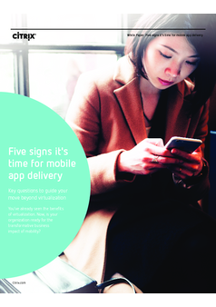 Thumb five signs its time for mobile workspace delivery