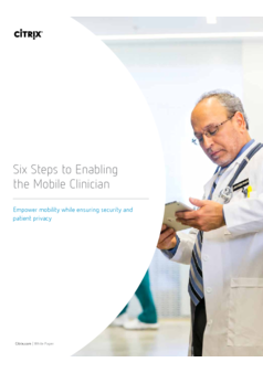 Thumb six steps enabling the mobile clinician