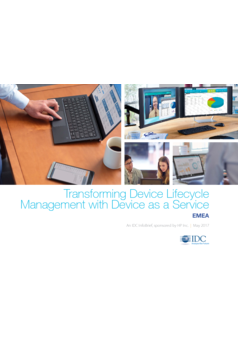 Transforming Device Lifecycle Management with Device as a Service
