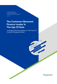 Thumb the customer obsessed finance leader in the age of data