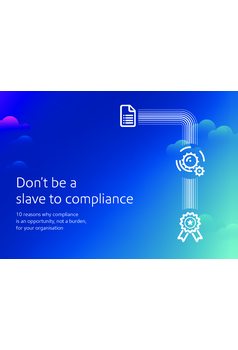 Don't be a slave to compliance