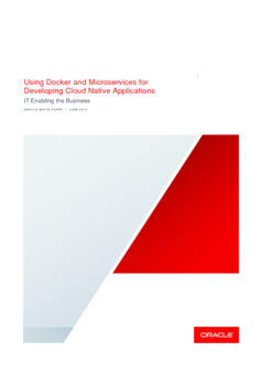 Using Docker and Microservices for Developing Cloud Native Applications