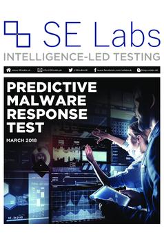 Predictive Malware Response Test