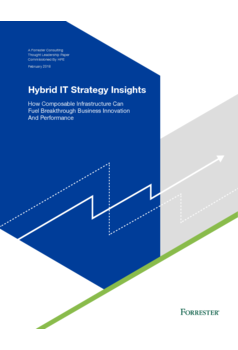 Thumb forrester hybrid it insights