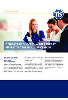 100 Days To Success: A Treasurer's Guide To Career Advancement