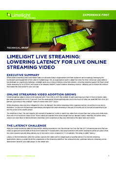 Thumb limelight live streaming