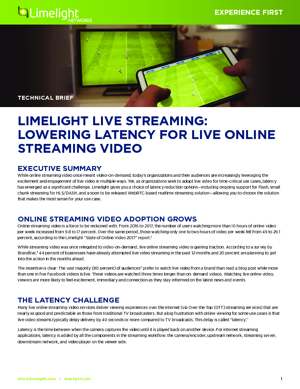 Thumb original limelight live streaming