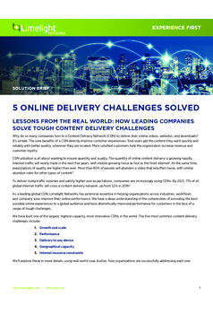 Thumb 5 online delivery challenges solved
