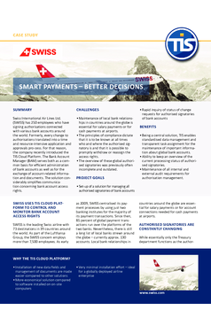 Case Study – Swiss Airlines EN