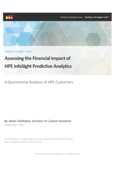 Thumb assessing the financial impact of hpe infosight predictive analytics uk