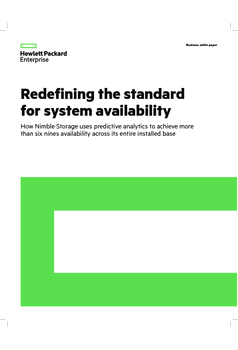 Thumb redefining the standard for system availability uk