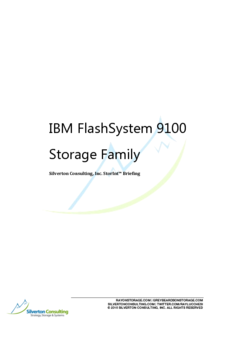 IBM FlashSystem 9100 Storage Family