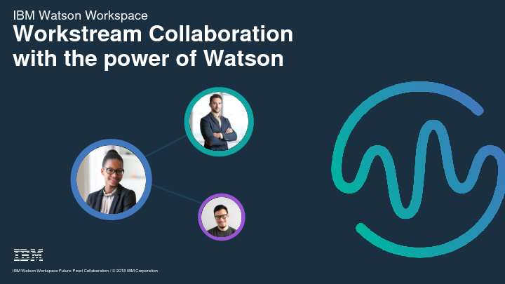 Workstream Collaboration With The Power Of Watson