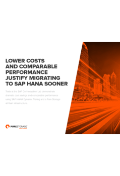 Lower Costs And Comparable Performance Justify Migrating To SAP HANA Sooner
