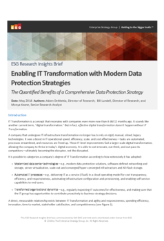 Thumb thirs party report esg enabling it transformation with modern data protection strategies