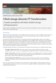Thumb third party report esg flash storage fuels it transformation brief
