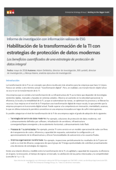 Thumb third party report esg enabling it transformation with modern data protection strategies