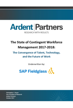 Thumb the state of contingent workforce management 2017 2018. the convergence of talent  technology  and the future of work