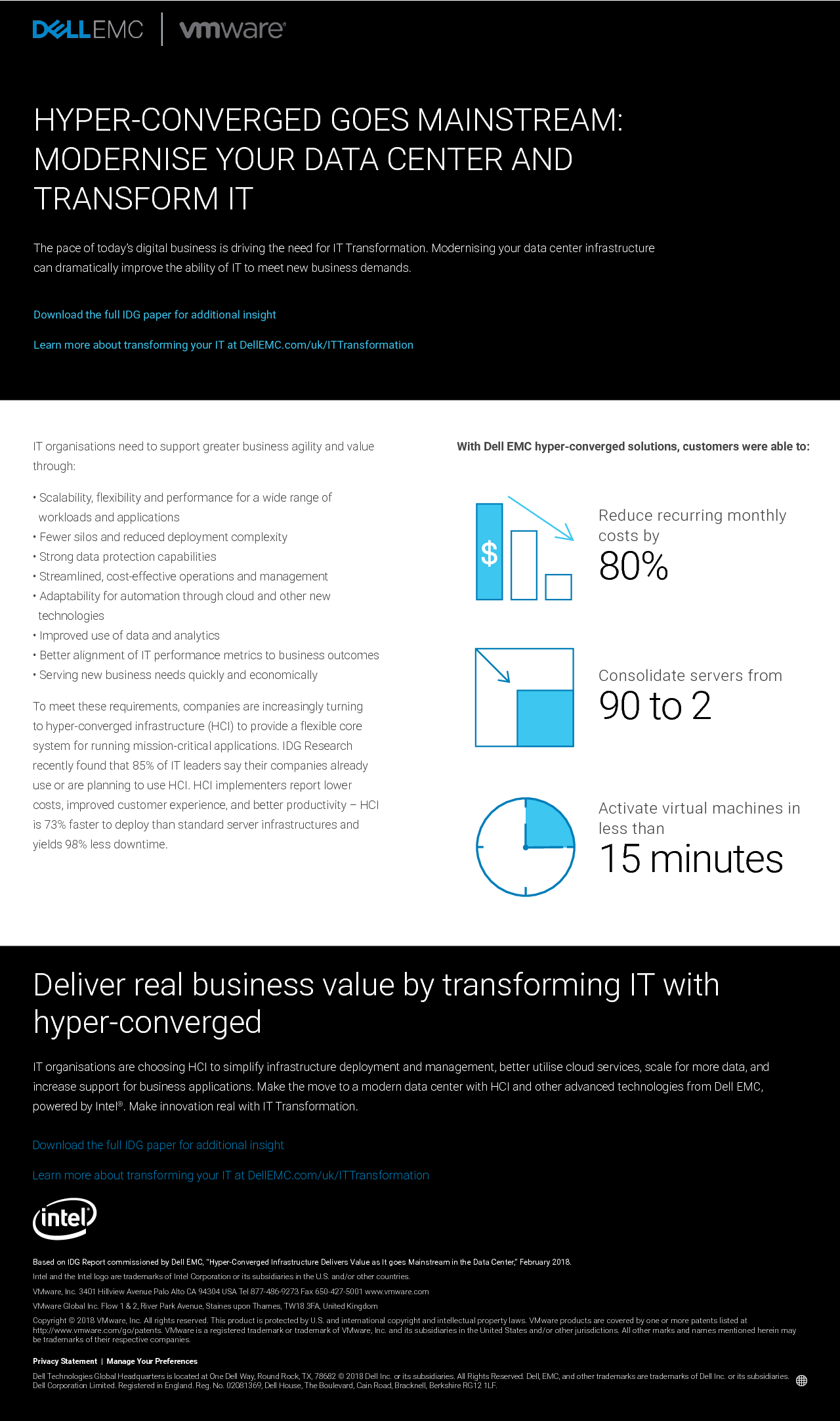 Thumb original idg quick pulse whitepaper   hyperconverged infrastructire delivers value