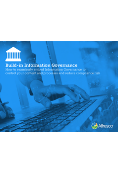 Build-in Information Governance