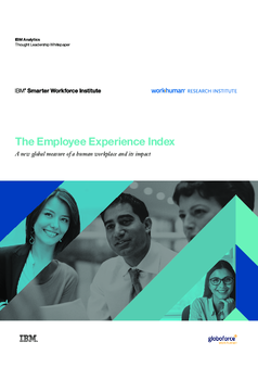 Thumb the employee experience index