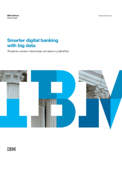 Thumb smarter digital banking with big data